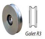 Galet inox R3