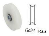 Galet polyamide R2.2