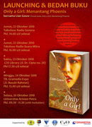 Rangkaian acara peluncuran & bedah buku Only a Girl di Surabaya
