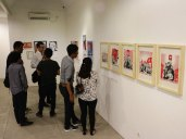 Exhibition in function room