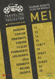 Poster #ProyektorKeliling di 11 kota
