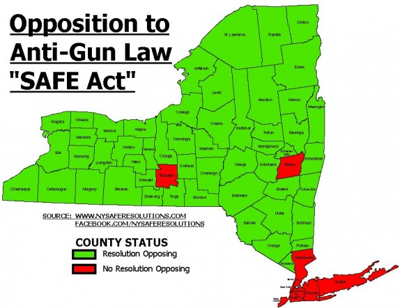 Local opposition stymies NY SAFE Act gun law