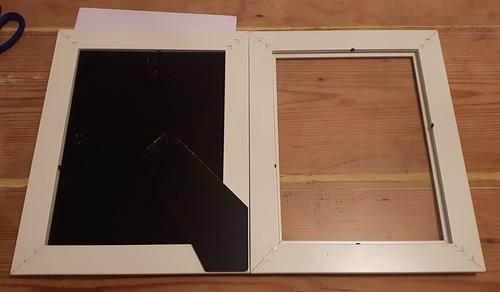 Framed lists - remove backing