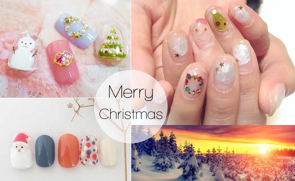♥ 聖誕節的簡約搭配!美甲的重要節日 1