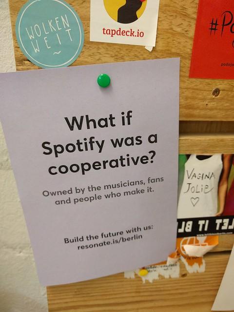 What if Spotifiy was a Coop?