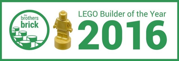 Brothers Brick LEGO Builder of the Year 2016