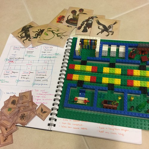 Fantastic Beasts Lego board game
