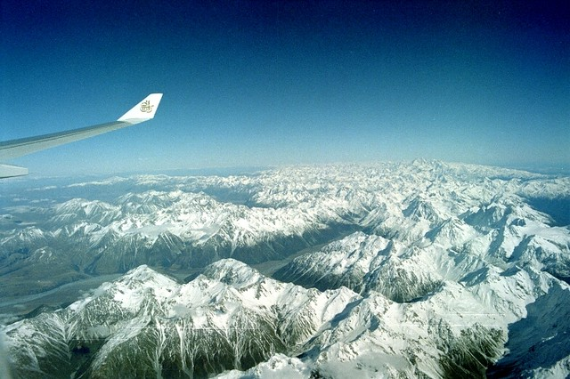 The Southern Alps, New Zealand