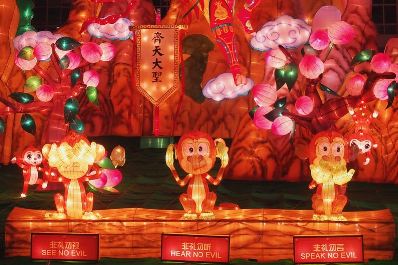 Year of Monkey - See No Evil, Hear No Evil, Speak No Evil