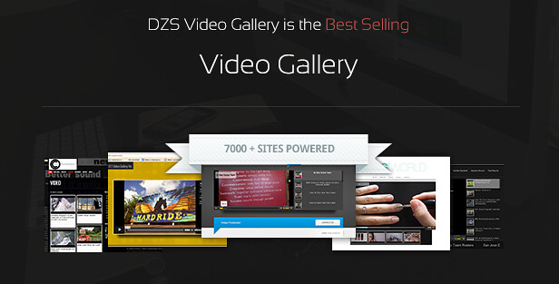 Video Gallery WordPress Plugin /w YouTube, Vimeo, Facebook pages 1