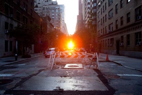 Manhattanhenge, July 2009