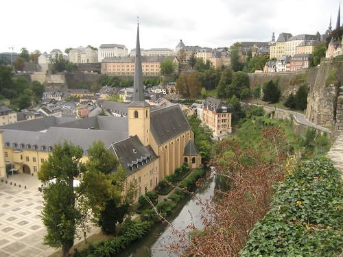 Patrimonio de la Humanidad en Europa y América del Norte. Luxemburgo. Ciudad de Luxemburgo: barrios antiguos y fortificaciones.