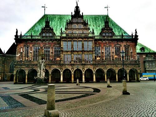 Patrimonio de la Humanidad en Europa y América del Norte. Alemania. Ayuntamiento de Bremen.