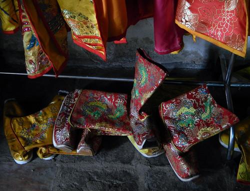 Costume Boots at Emperor Tu Duc's Tomb in Hue, Vietnam
