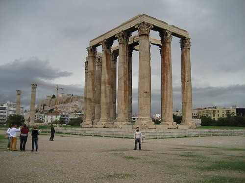 Templo de Zeus Olímpico. ViajerosAlBlog.com.