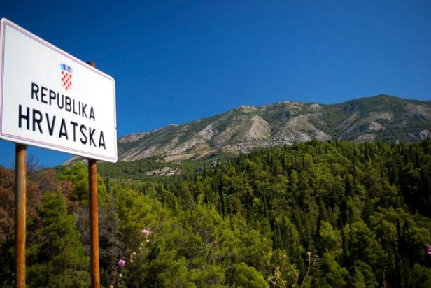 Граница Черногория - Хорватия