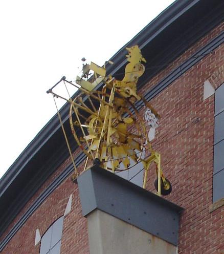 Vollis Simpson Whirligig At American Visionary Art Museum in Baltimore MD
