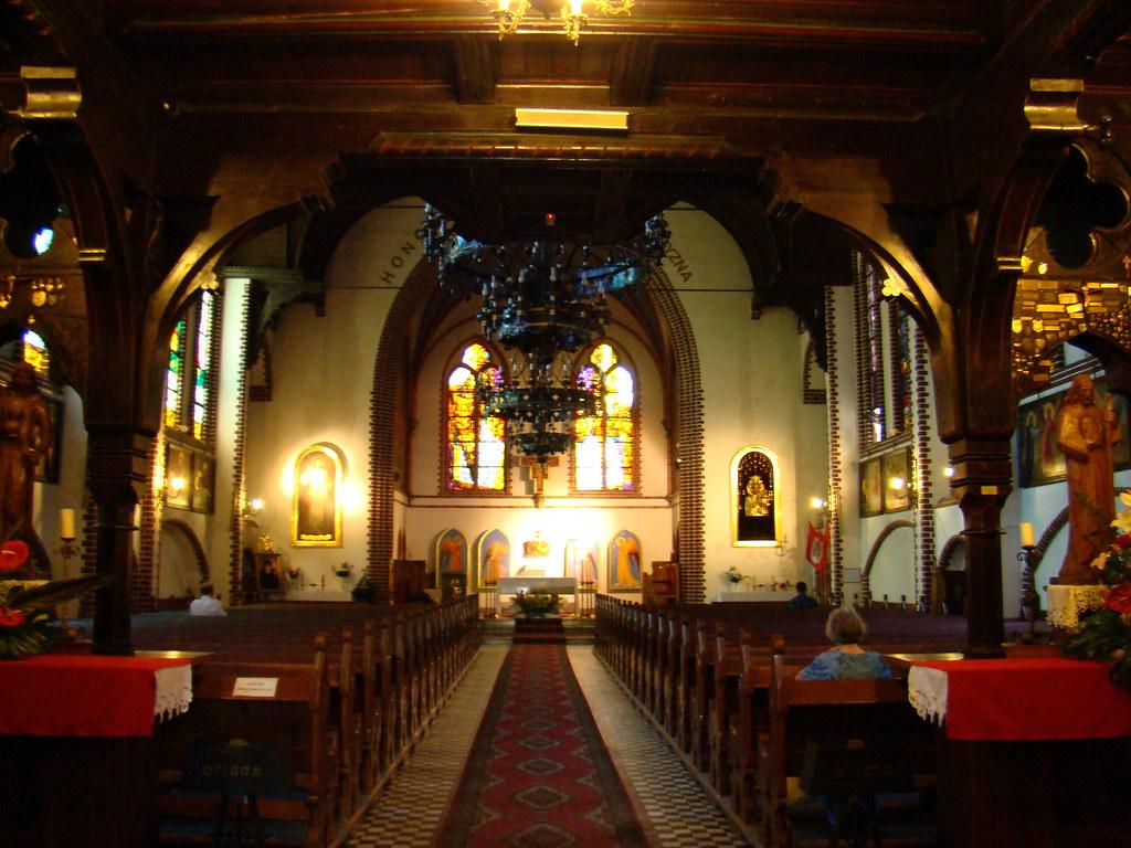 Sopot Iglesia de San Jorge Polonia 12
