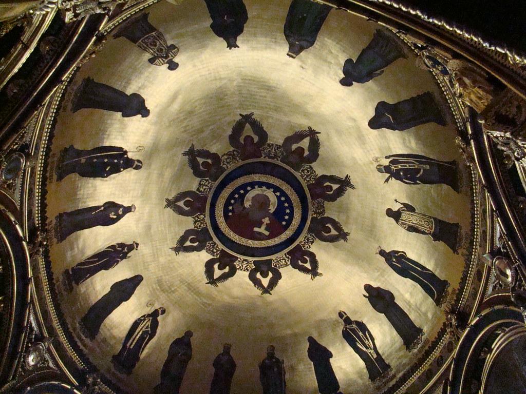 Polonia capilla Dorada cupula Catedral y Basilica de San Pedro y San Pablo Poznan 22