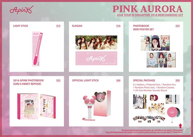 Apink Merchandise