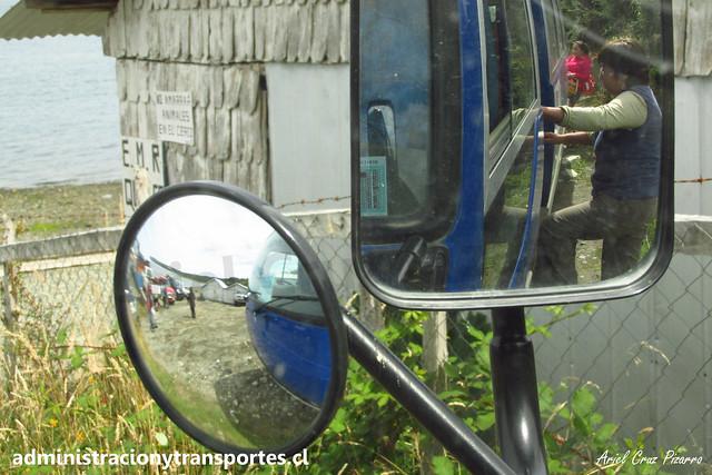 Queler Bus (Hermanos Ulloa Melián) | Isla Caucahue | Mitsubishi Fuso Rosa / FXRS78