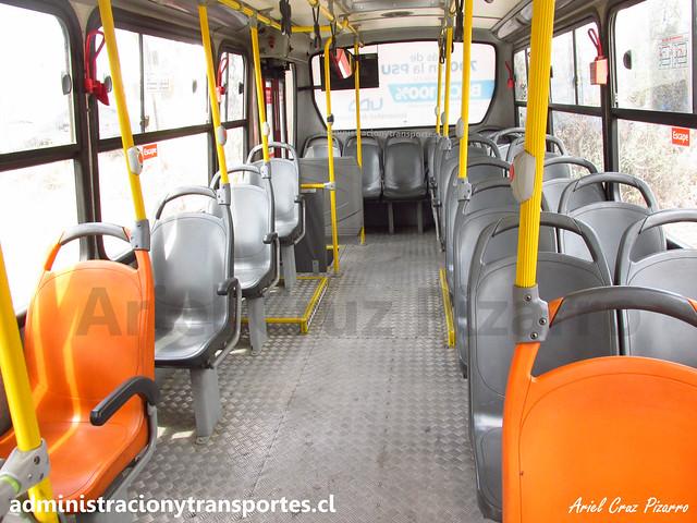 Transantiago C16 | Redbus | Neobus Thunder - Mercedes Benz / CJRP68