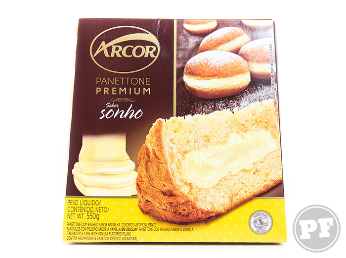 Panettone Premium Sonho Da Arcor por PratoFundo.com