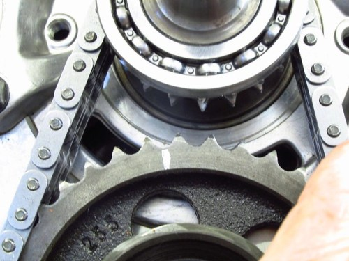 Timing Marks When Sprockets Are One Tooth Out of Alignment