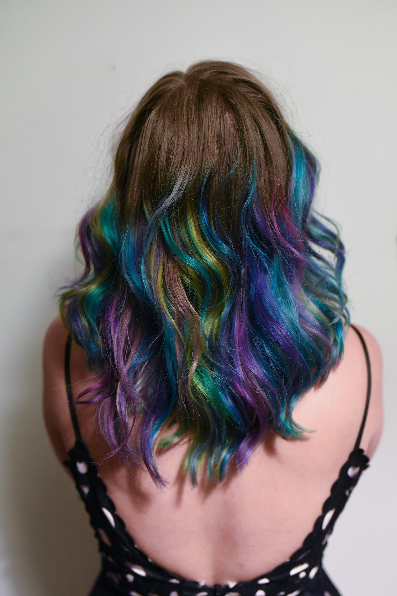 Slunks Rainbow Mermaid Hair