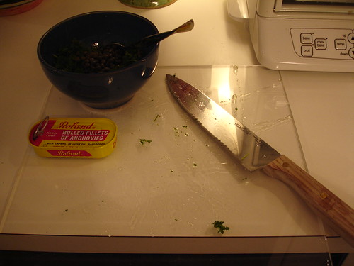 salmon with salsa verde mayonnaise