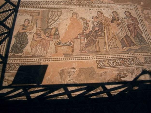 Mosaics At Paphos