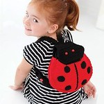 Lady Bug Backpack - Free Crochet Backpack Pattern