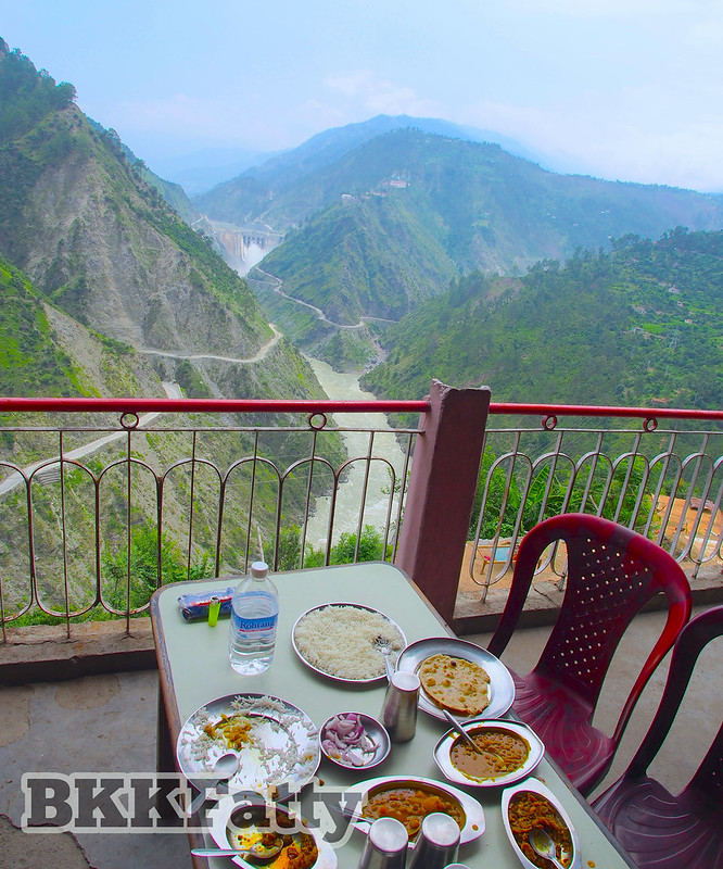 indian lunch with a view of kashmir-1