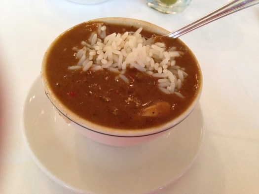 Crab and Okra Gumbo, Galatoire's, New Orleans LA