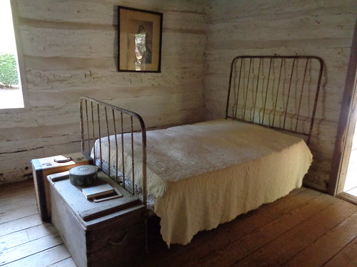 Dogtrot Cabin at Gen Joe Wheeler Homeplace, Hillsboro AL