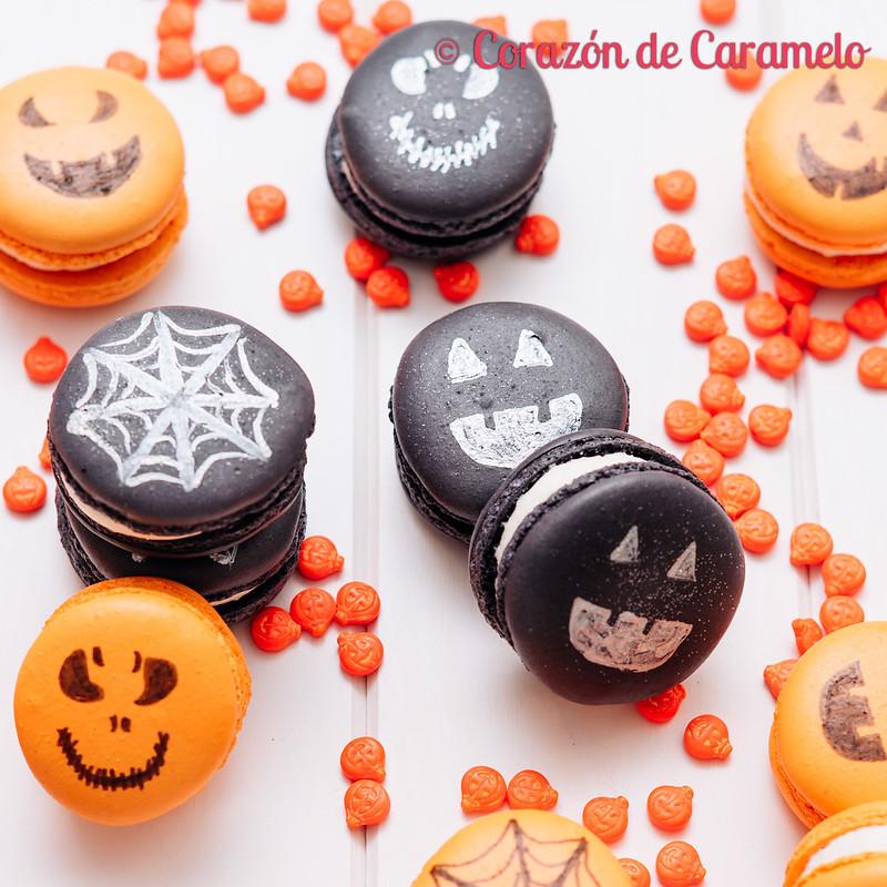 Macarons de Halloween
