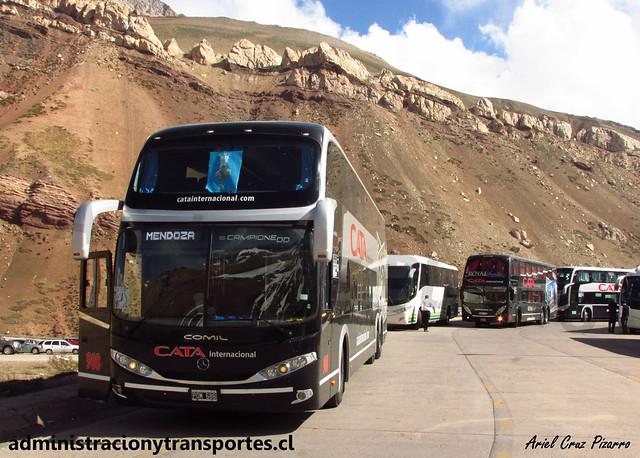 Cata Internacional | Paso Los Libertadores | Comil Campione DD - Volvo / POM688 - n° 908