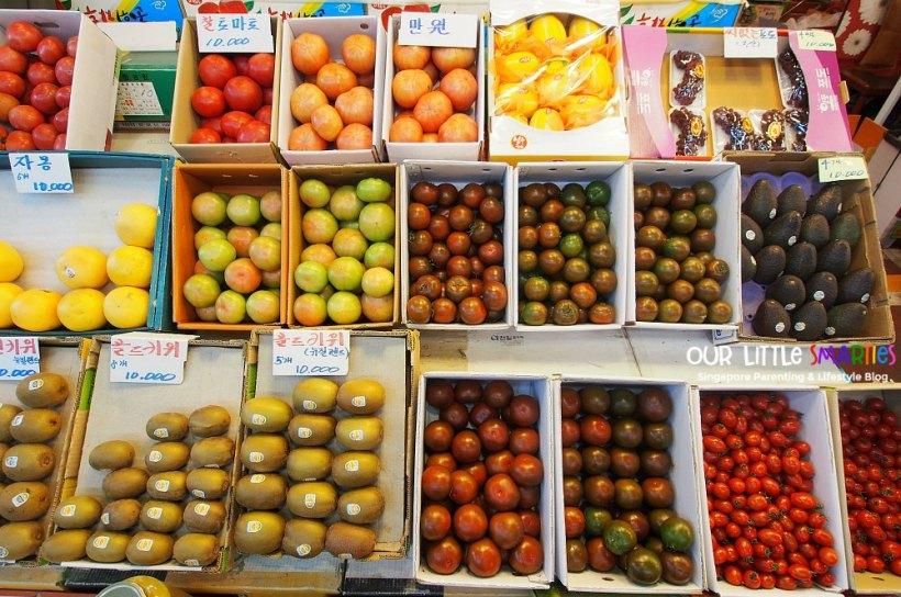 Fruits in Mapo Market