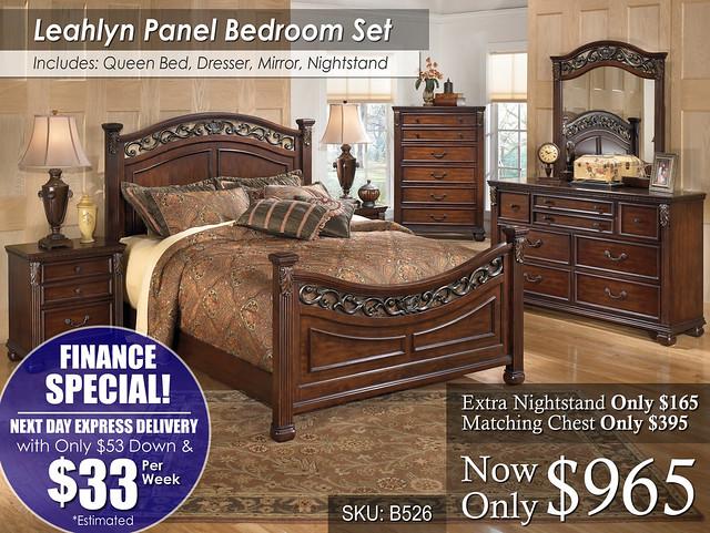 Leahlyn Bed Set Finance