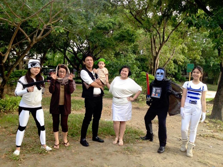 DIY Halloween Costume Star Wars Group