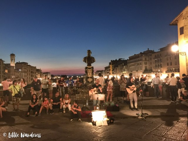 Florence is thriving with excellent street musicians