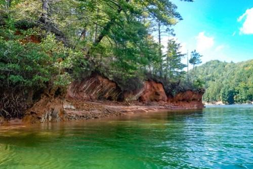Lake Jocassee with Bennie Waddell-45