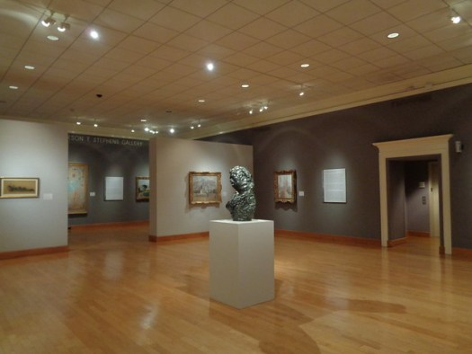 Gallery, Arkansas Arts Center, Little Rock