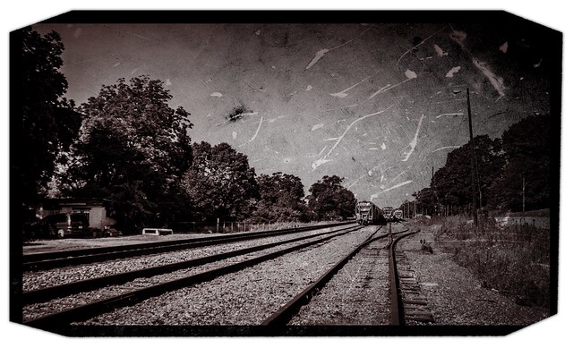 Railroad at Blacksburg, SC