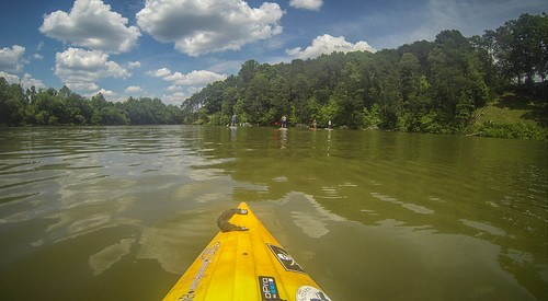 Kayaking and SUP on Saluda Lake-71