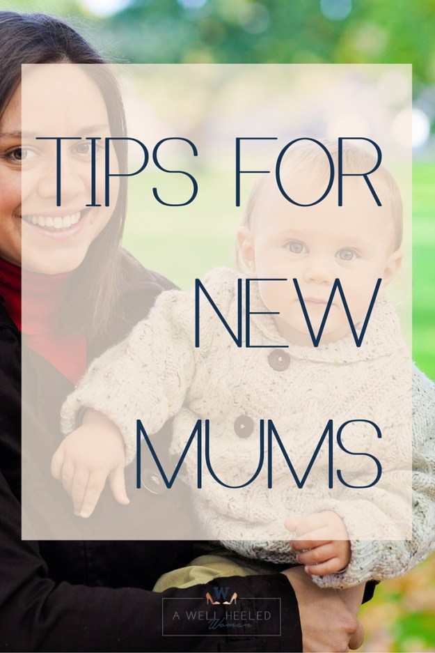 Tips for new mums pin