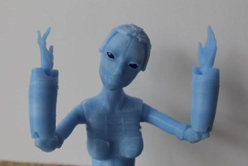 Robotica, 3D printed BJD