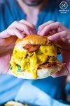 Double Banger, $16.90: Bang Bang Cafe, Surry Hills. Sydney Food Blog Review