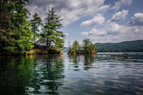 Lake Jocassee Kayaking-107