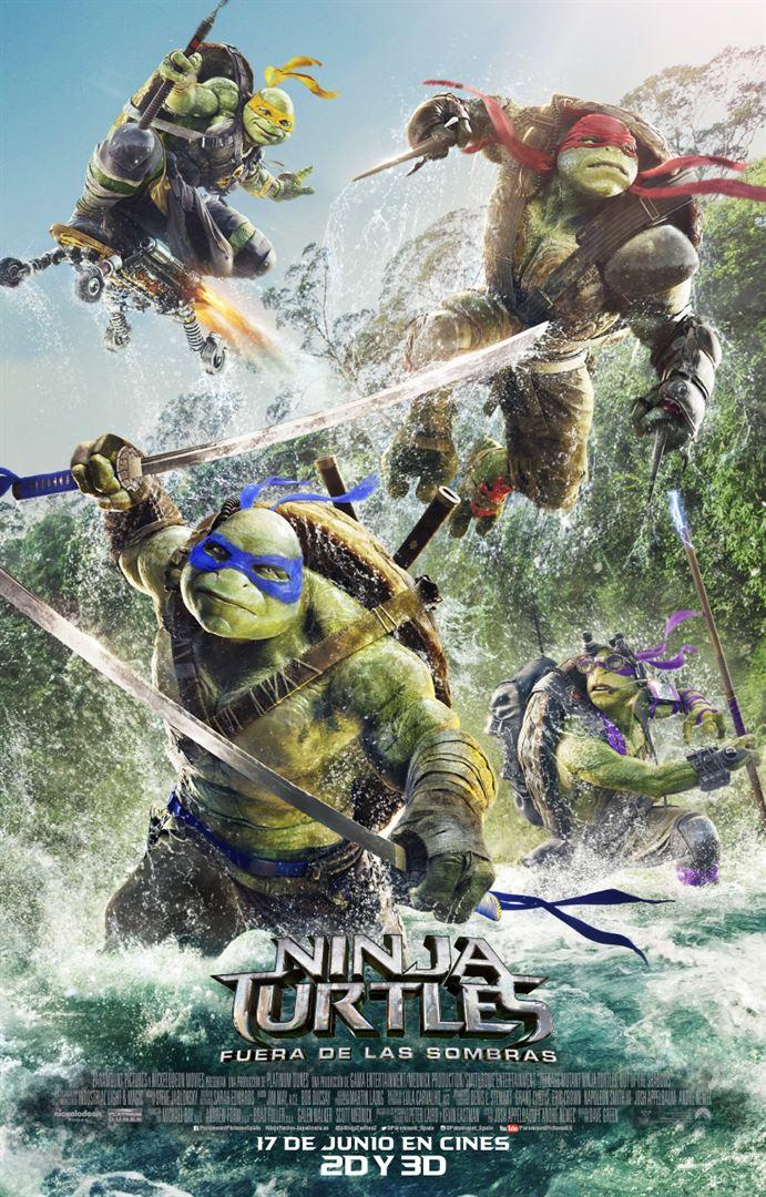 Ninja Turtles: Fuera de las sombras - Estreno
